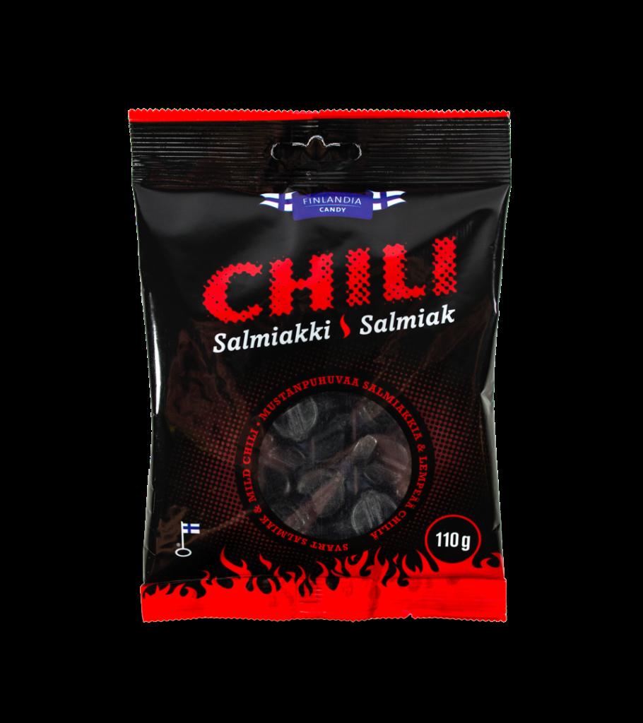 Finlandia Candy Chili Salmiakki karkkipussi