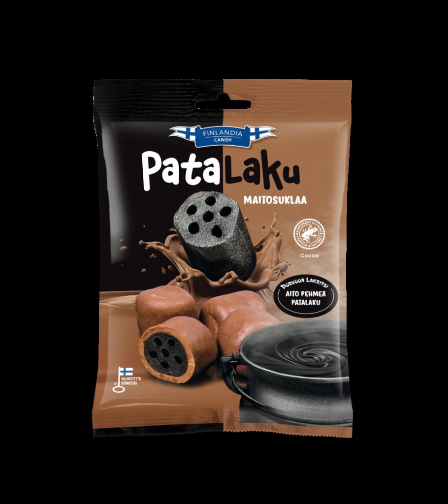 finlandia candy patalaku maitosuklaa, lakritsikarkit, suklaamakeiset, karkkipussi
